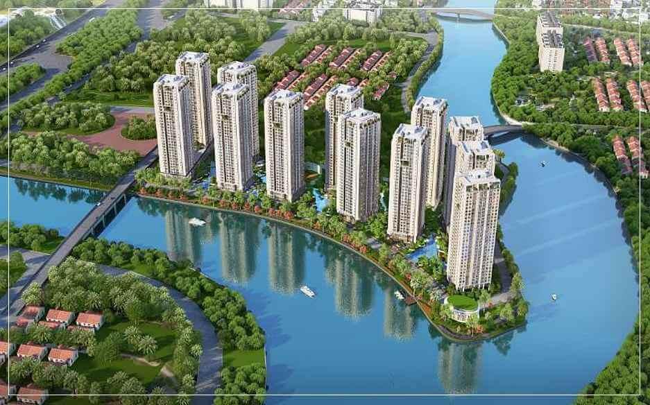 Du an Can Ho Gem Riverside Dat Xanh Quan 2 - Tong quan